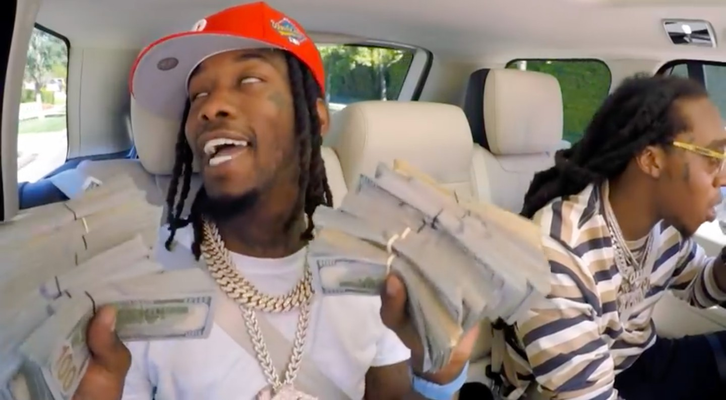 Migos Were On Carpool Karaoke And It Was Amazing Daquan Viral