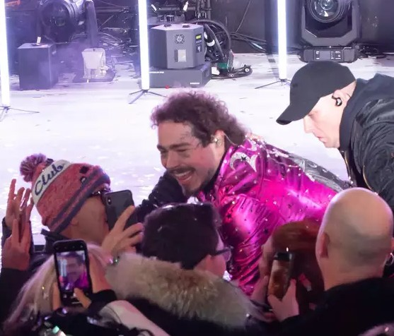 Post Malone Rings In New Year With Injury